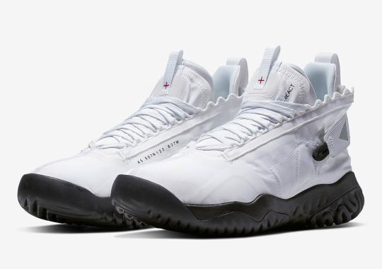 new products 42ed8 1b50e First Look At The Jordan Proto React In White Black