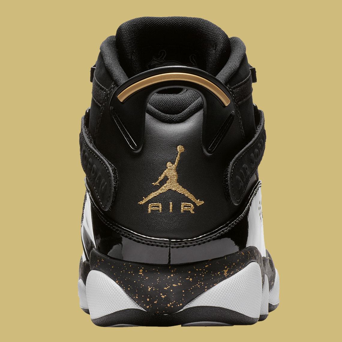 the best attitude c9fdd 4becf Jordan Six Rings Black/Gold 322992-007 Release Info ...