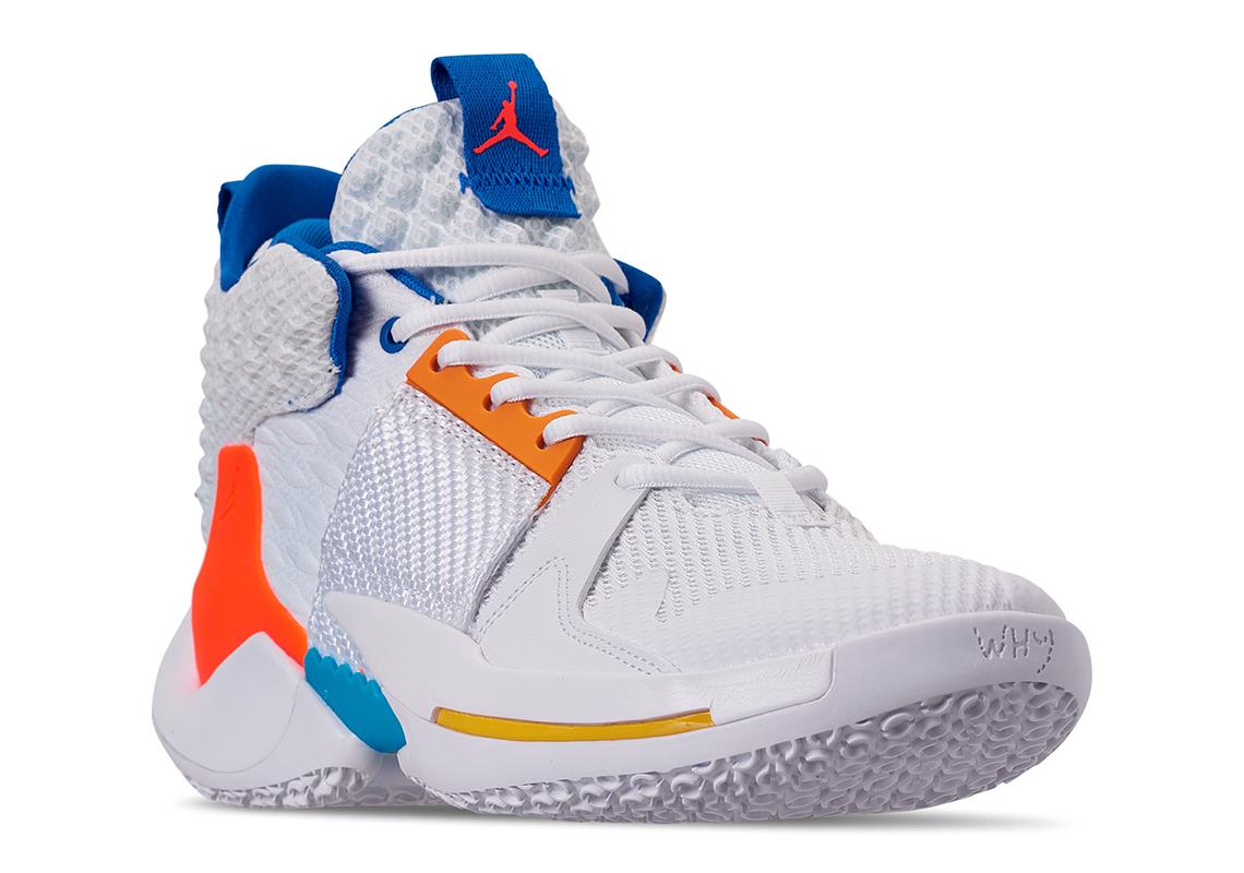 new styles 537cd 794d9 Jordan Why Not Zer0.2 OKC Home AO6219-100 Info   SneakerNews.com
