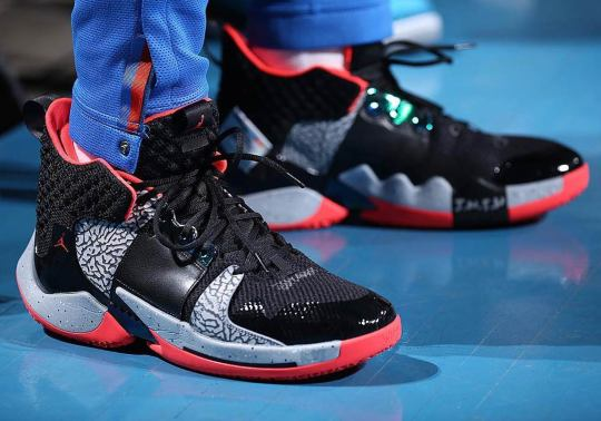 """Jordan Why Not Zer0.2 Revealed In A """"Black/Cement"""" Colorway"""