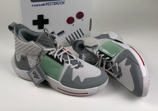The Jordan Why Not Zer0.2 Loads Up In A Nintendo Game Boy Edition