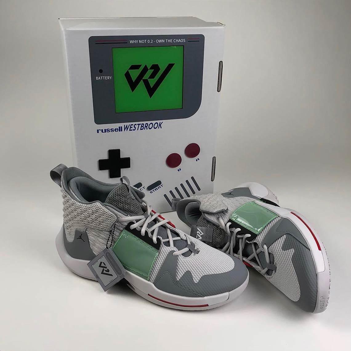 new product 80ab2 d63e3 Jordan Why Not Zer0.2 Nintendo Game Boy Info | SneakerNews.com