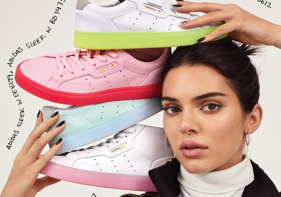 caa40784f09 Kendall Jenner adidas Sleek Release Info