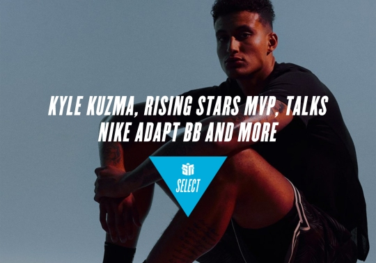 Kyle Kuzma, Rising Stars MVP, Talks Nike Adapt BB And More