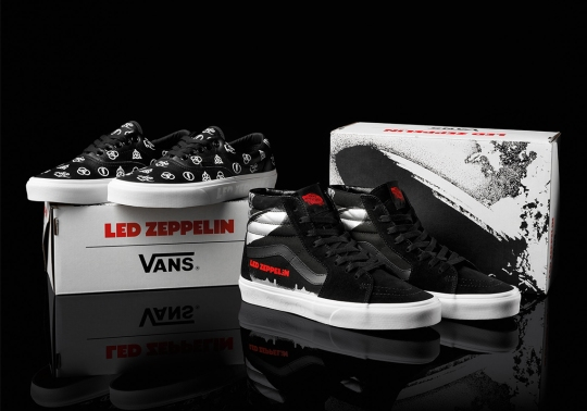 Led Zeppelin Celebrates 50th Anniversary With Vans Collaboration
