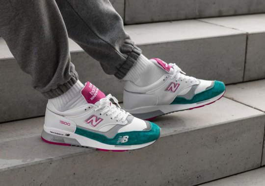 New Balance Brings Back The Forefoot Logo On The 1500 Model