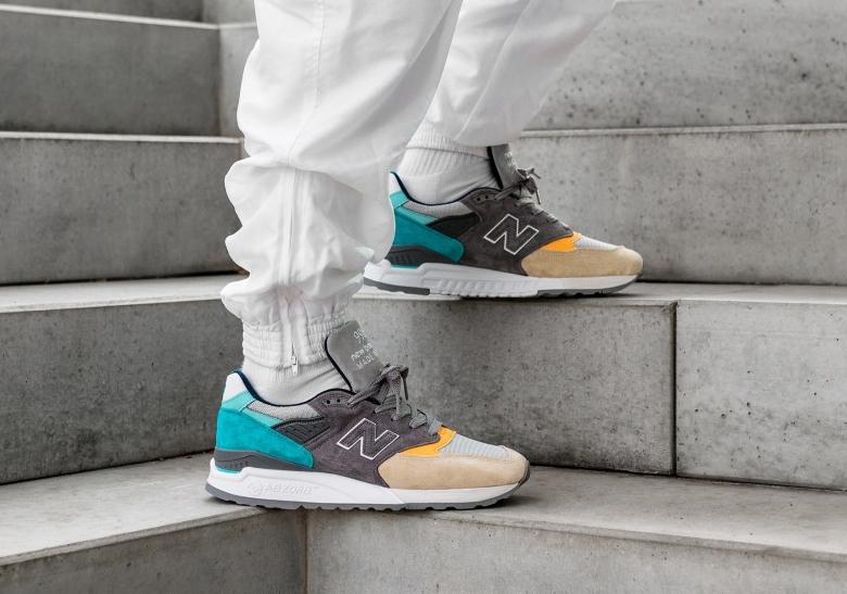 separation shoes 28b23 69e0a New Balance 998 Sand Aqua Release Info | SneakerNews.com