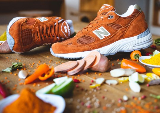 The Cult-Followed New Balance M991 Returns In Orange Suede