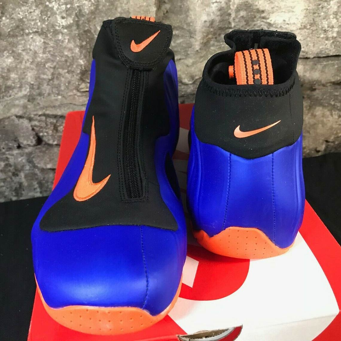 27ea5488124e ... Nike Air Flightposite that was worn by Allan Houston the year the  Knicks went to the NBA Finals against the San Antonio Spurs. The Knicks may  have lost