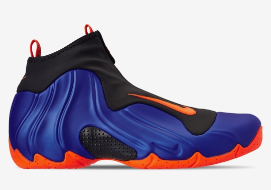 The Nike Air Flightposite Returns In A Knicks Themed Colorway