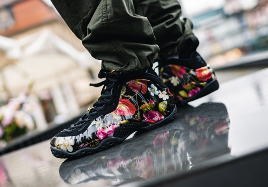 "Where To Buy The Nike Air Foamposite One ""Floral"""