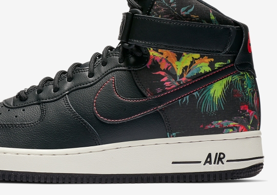 A Nike Air Force 1 High For Plant Lovers Is Here