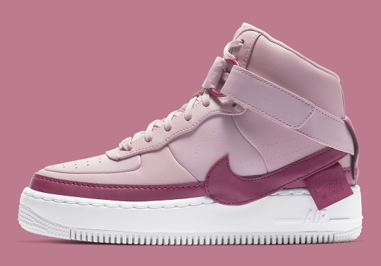 """Plum Chalk"" Graces The Nike Air Force 1 Jester High XX"