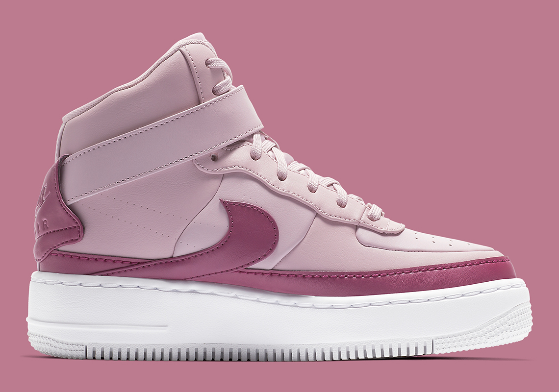 Nike Air Force 1 Jester High Women s Pink AR0625-501 Store List ... b48aef4bf