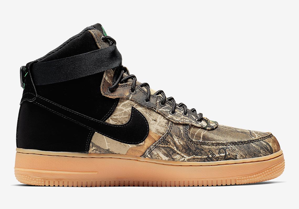 Nike Air Force 1 High Realtree Camo