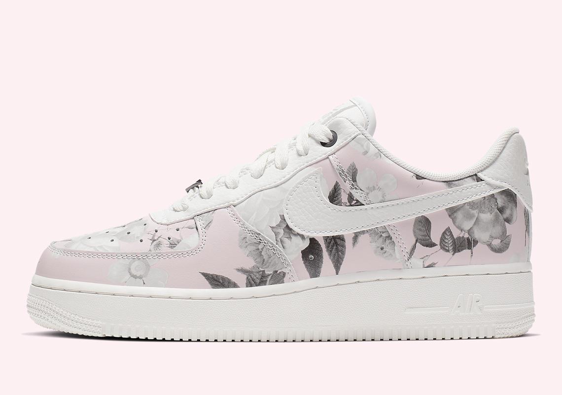 reputable site 13b8d 9529b Nike Air Force 1 Low Floral Rose AO1017-102 | SneakerNews.com