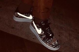 "8655724ffe34 LeBron James Reveals Nike Air Force 1 Flyknit ""Caramel Chocolate Sundae"""