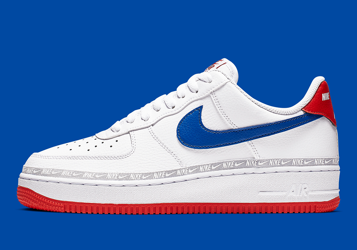 6d918f0ebadc5 Nike Air Force 1 Low Red White Blue CD7739-100