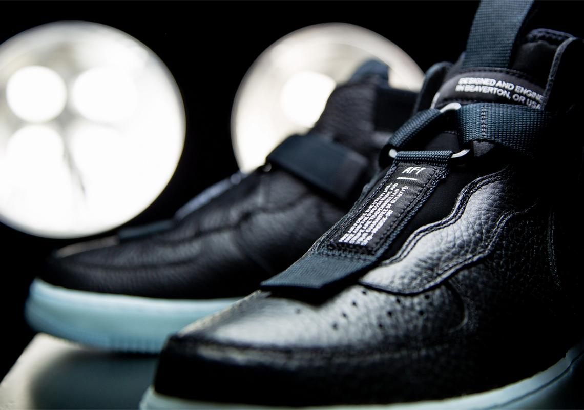 Nike Air Force 1 Mid Utility Black Blue