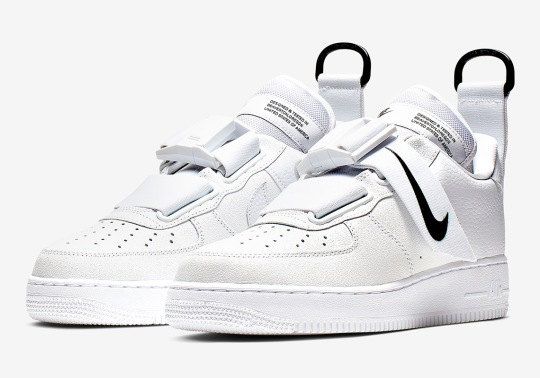 The Nike Air Force 1 Utility Is Coming Soon In White And Black