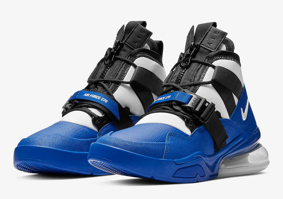 best loved f78a2 c1cbb Nike Adds Racer Blue To The Air Force 270 Utility