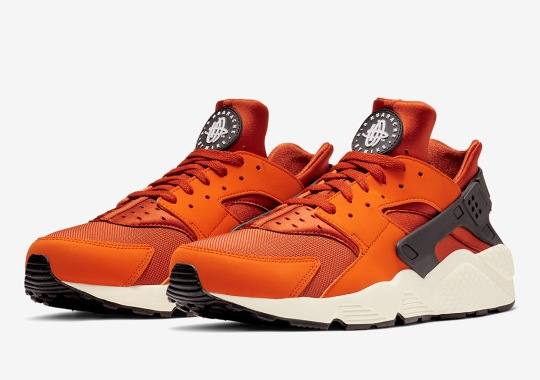 "63f878d4c08a Nike s Classic Air Huarache Calls Upon ""Firewood Orange"""