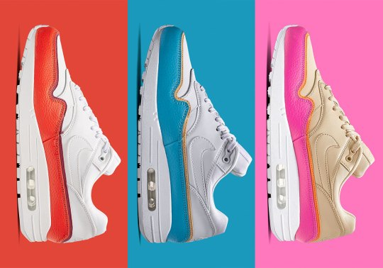 Nike Adds Double-Layered Mudguards To The Air Max 1