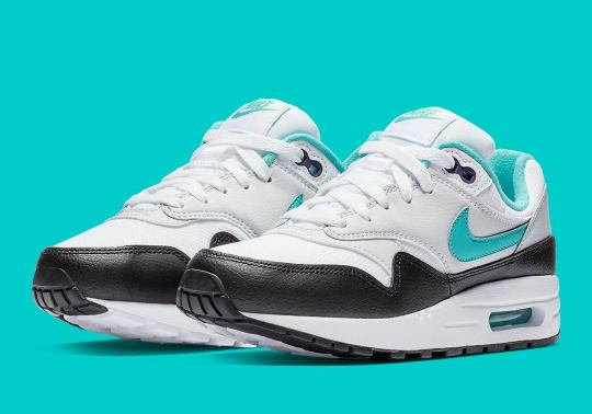 "The Kids' Nike Air Max 1 Gets A Classic ""Dusty Cactus"" Makeover"