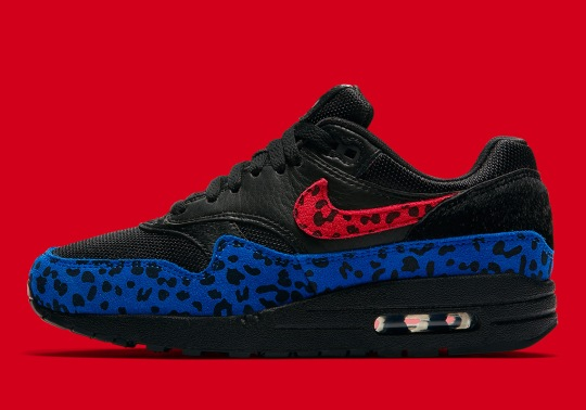 "The Nike Air Max 1 Premium ""Leopard"" Releases On March 1st"