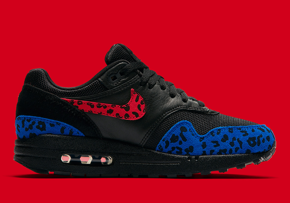 551f77e1dc4f Nike Air Max 1. Release Date: March 1st, 2019. Color: Black/Habanero  Red-Racer Blue