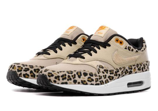 """Nike Air Max 1 """"Leopard"""" Releases This Weekend"""