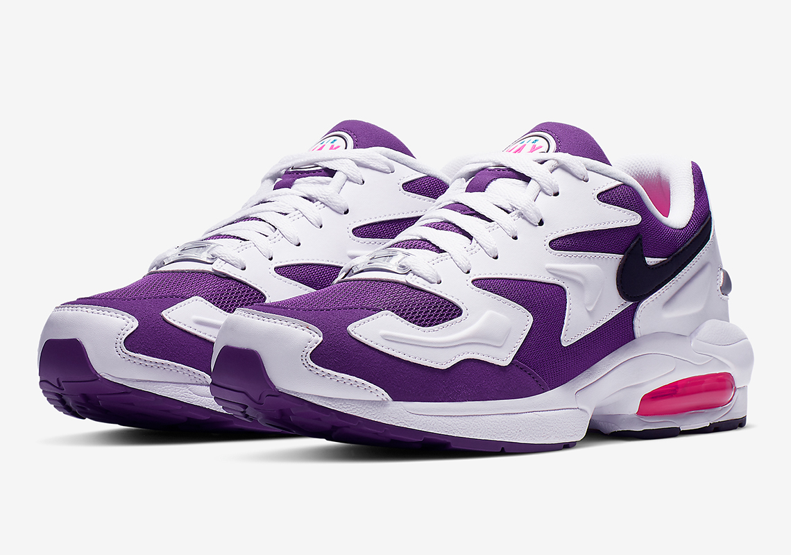 nike air max 2 light og white purple pink ao1741 103. Black Bedroom Furniture Sets. Home Design Ideas