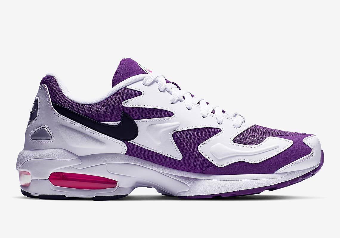 Nike Air Max 2 Light Og White Purple Pink Ao1741 103
