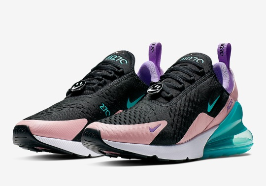 """The Nike Air Max 270 Gets The """"Have A Nike Day"""" Spirit"""