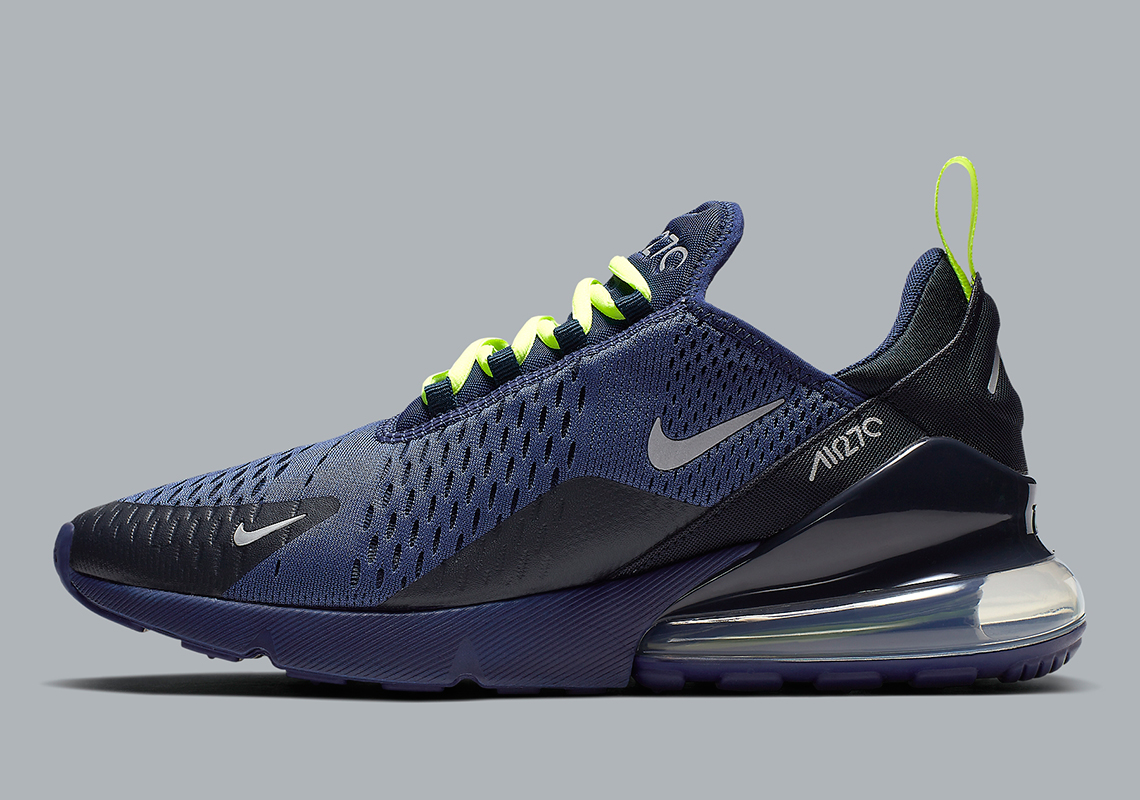 new products 5cf31 61249 Nike Air Max 270 Seahawks CD7337-400 Info   SneakerNews.com