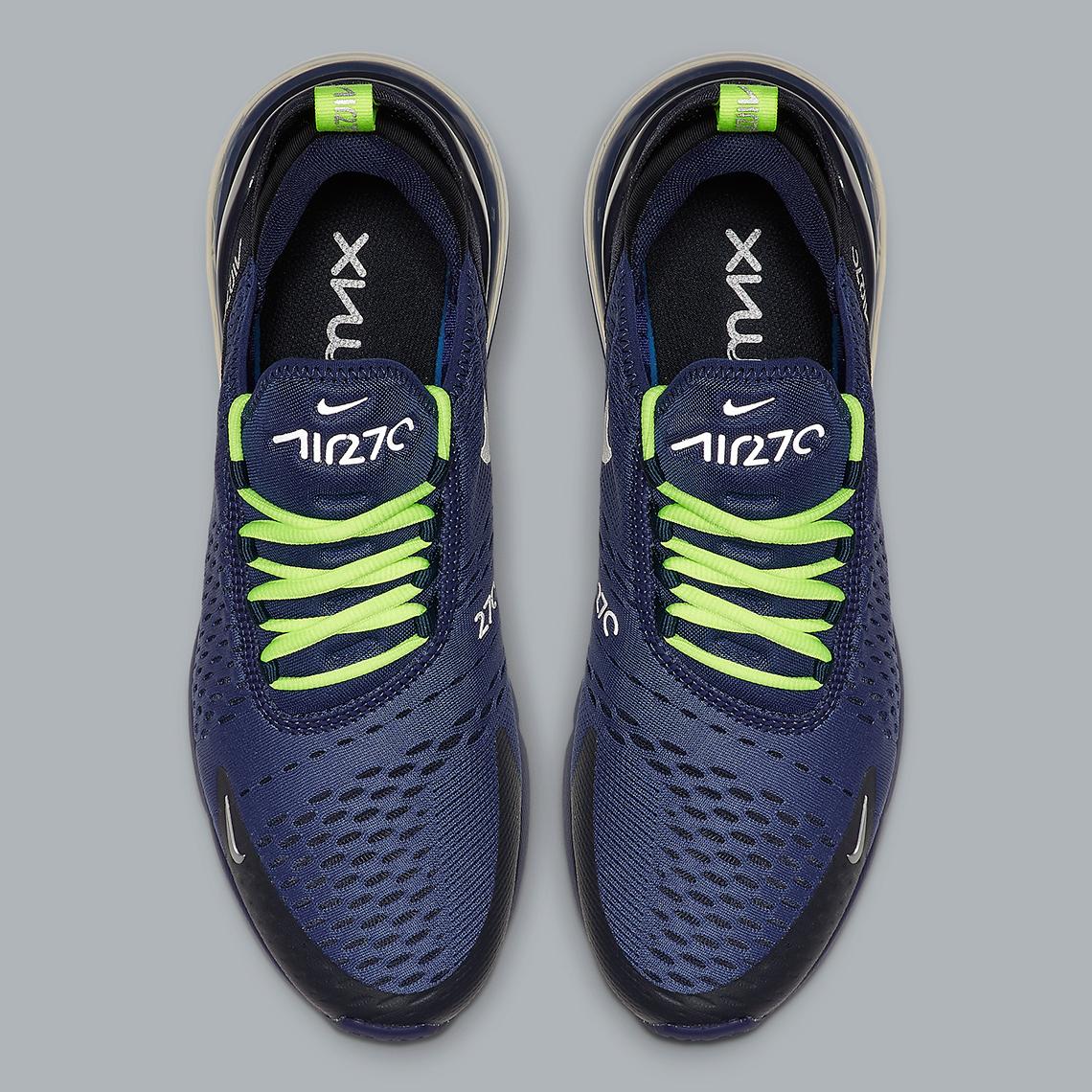 Nike Air Max 270 Seahawks CD7337-400 Info | SneakerNews.com