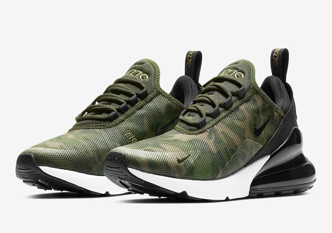 "The Nike Air Max 270 ""Camo"" Is Available For Women e589b4a04"