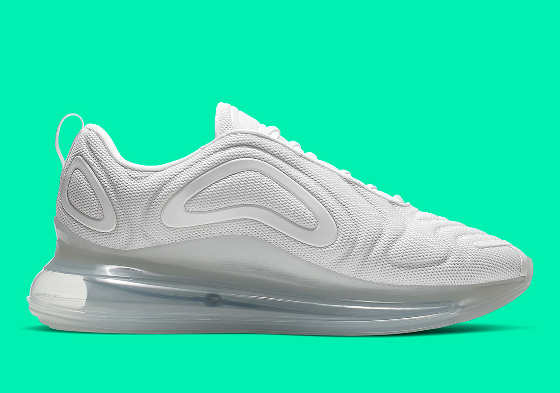 save off 7f9c5 ec773 Nike Air Max 720 Metallic Platinum AO2924-100 Release   SneakerNews.com