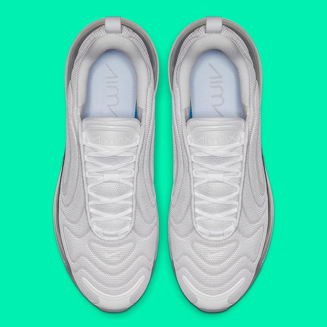 "Nike Air Max 720 To Get ""Metallic Platinum"" Colorway"