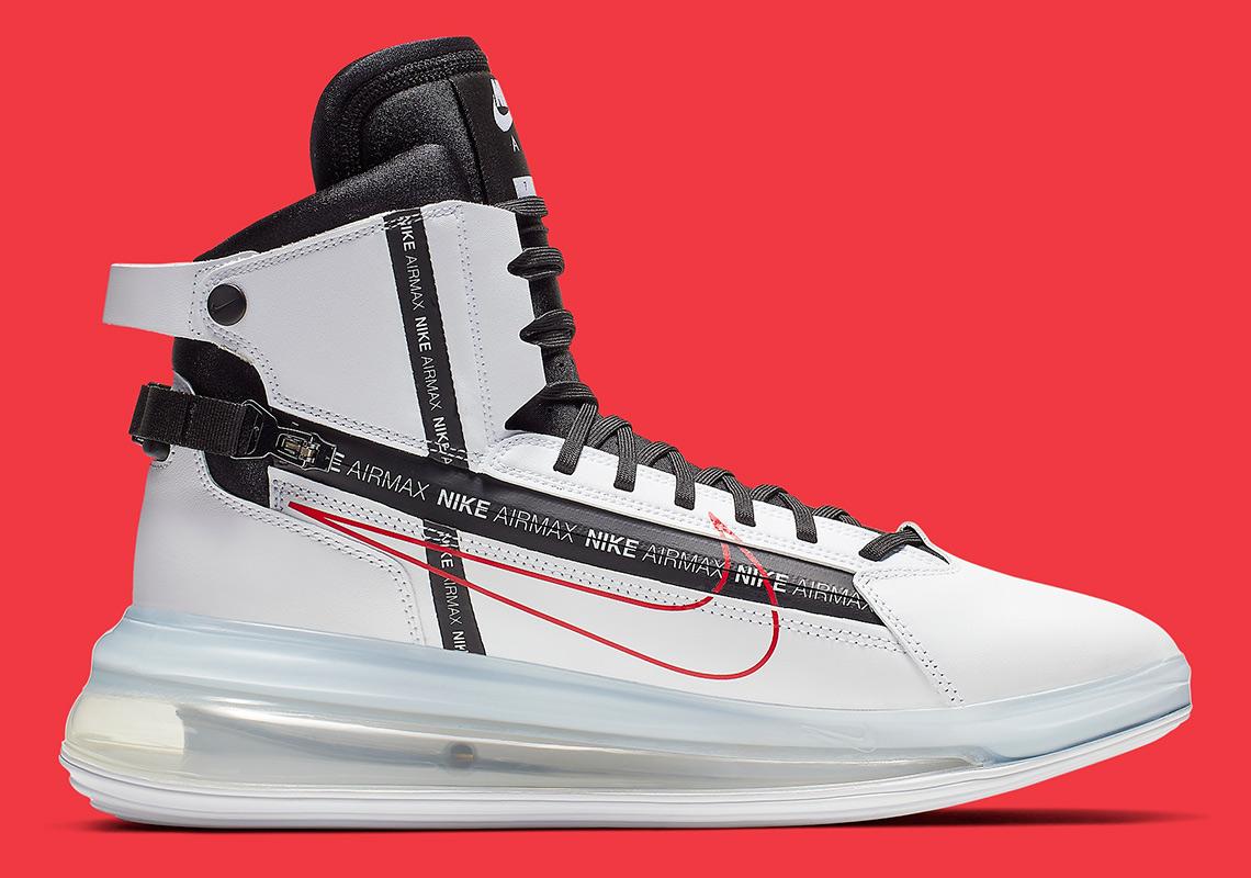buy cheap 2ac06 6fd6f Nike Air Max 720 Saturn White Red AO2110-100   SneakerNews.com