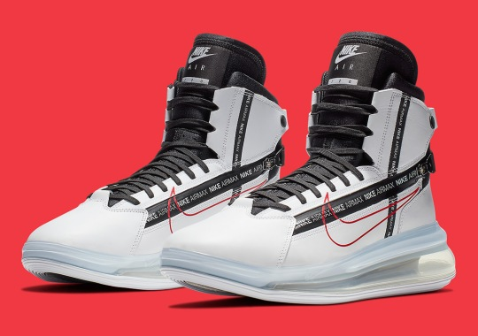 The Nike Air Max 720 Saturn Returns In White And Red