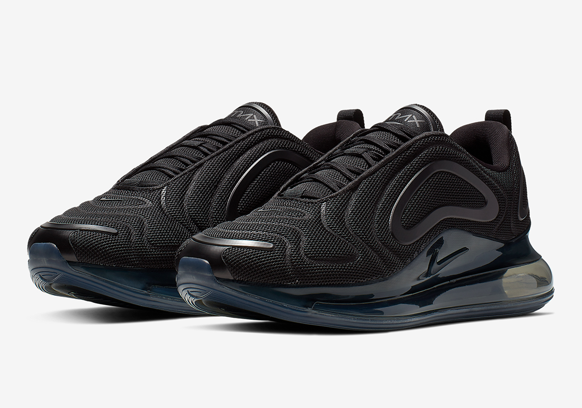"sale retailer d782e f3790 The Nike Air Max 720 Appears In ""Triple Black"""