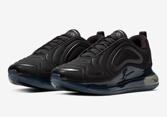 """The Nike Air Max 720 Appears In """"Triple Black"""""""