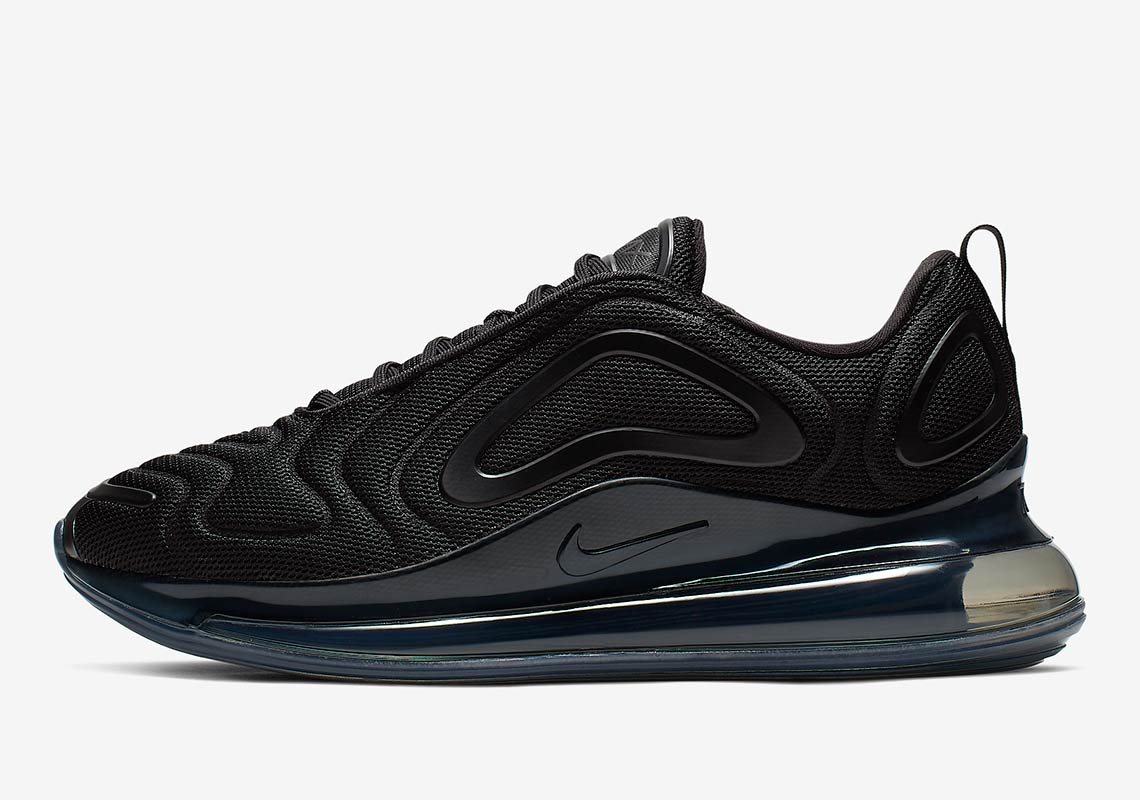Mensurable Ambos lucha  Nike Air Max 720 All Black AO2924-007 Release Info | SneakerNews.com
