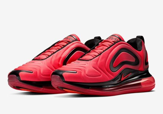 The Nike Air Max 720 Is Coming Soon In University Red
