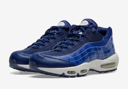 """The Nike Air Max 95 """"Blue Void"""" Is Available Now"""