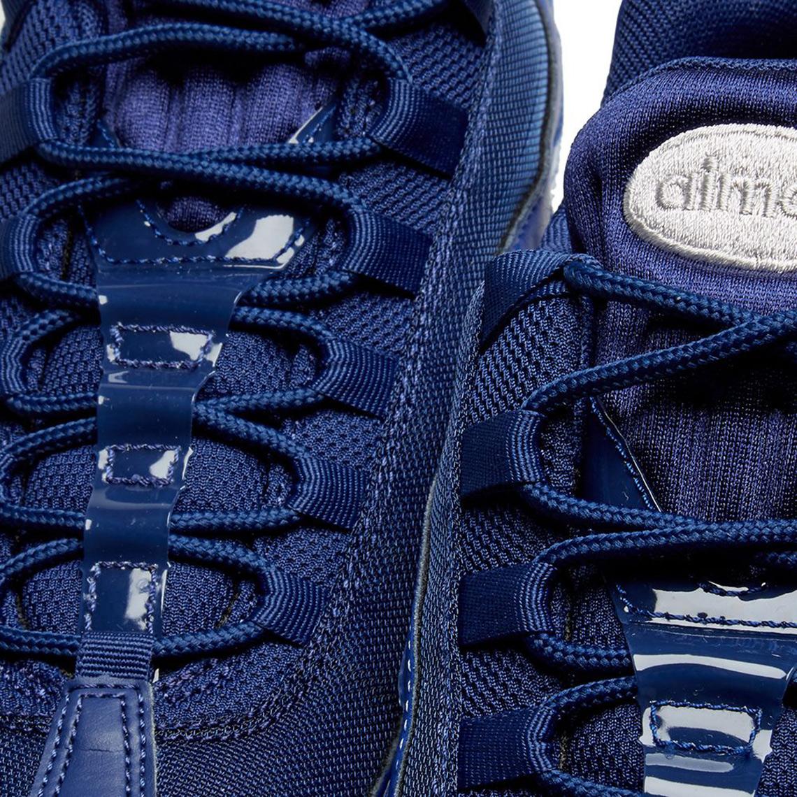 75d8eda1efad12 Nike Air Max 95 Blue Void 918413-401 Release Info