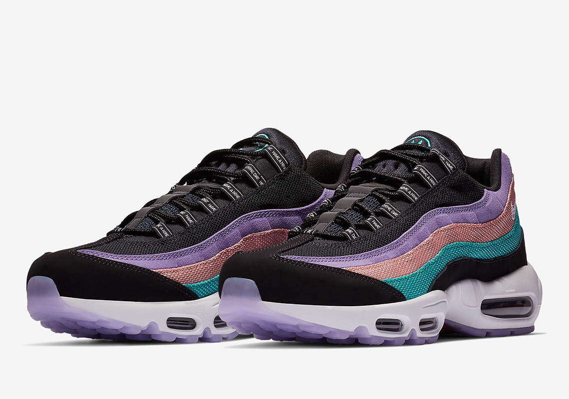 BQ9130 500 Nike Air Max 97 ND (Space Purple White Black