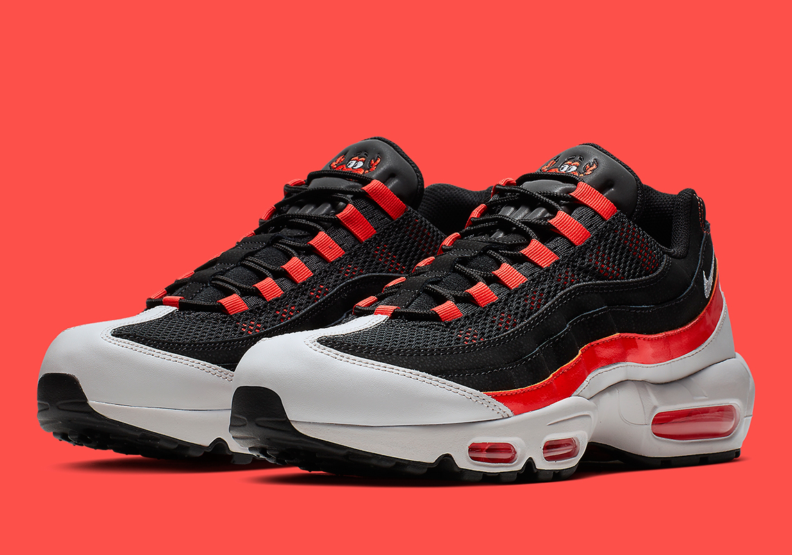 769a875cbb15 Nike Air Max 95  170. Color  White Black-Burnt Orange