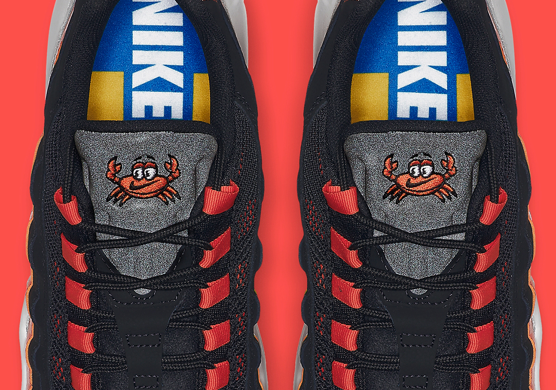 on sale 0380a 98cf2 Nike Adds A Cartoon Crab To The Air Max 95